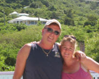 Kent and Dawn, owners of Villa Dawn on St. Croix.